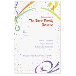 Fiesta Casual Invitations