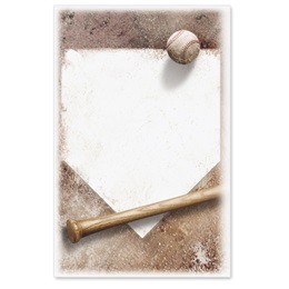 Home Plate Casual Invitations