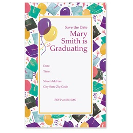 Graduation Celebration Casual Invitations