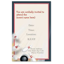 Pin Action Casual Invitations