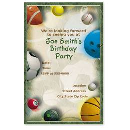 Good Sport Casual Invitations