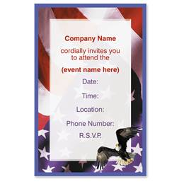 Freedom Casual Invitations