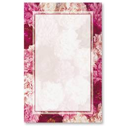 Peonies Casual Invitations