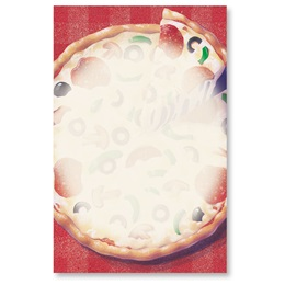Pizza Casual Invitations