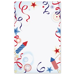 Patriotic Party Casual Invitations