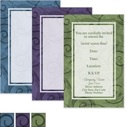 Scroll Casual Invitations