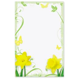 Daffodil Delight Casual Invitations