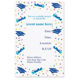 Graduation Day II Casual Invitations