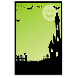 Spooky Lane Casual Invitations