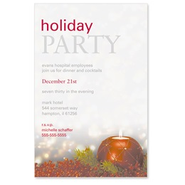 Berry Brilliance Casual Invitations