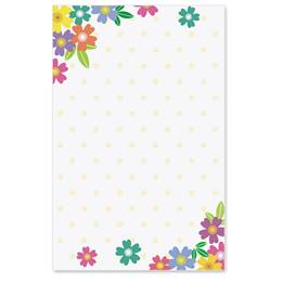 Wild Flowers Casual Invitations