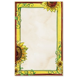 Tuscan Sunflowers Casual Invitations