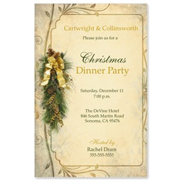 Pine Perfection Casual Invitations