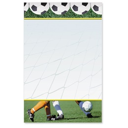Corner Kick Casual Invitations