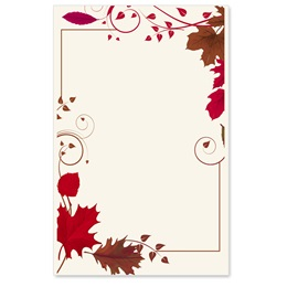 Mahogany Rouge Casual Invitations
