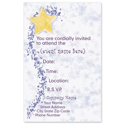 Stardust Casual Invitations
