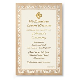 Adornment Specialty Flat Invitations