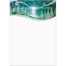 Winter Solstice Specialty Flat Invitations