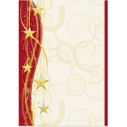 Sparkling Stars Specialty Flat Invitations
