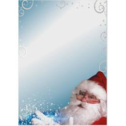 Santa's Magic Specialty Flat Invitations
