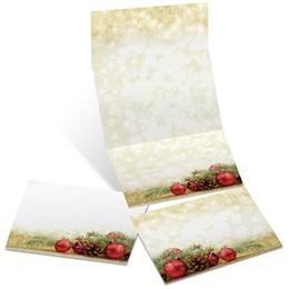 Holiday Enchantment Fold-Up Invitations