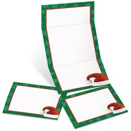 Santa's Hat Fold-Up Invitations
