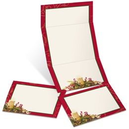 Woodland Candle Fold-Up Invitations