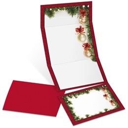 Christmas Twilight Fold-Up Invitations