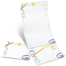 Fiesta Fold-Up Invitations