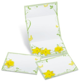 Daffodil Delight Fold-Up Invitations