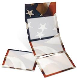 Salute Fold-Up Invitations