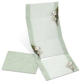 Calla Lilies Fold-Up Invitations
