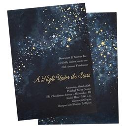 Sparkle Stars Invitation