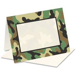 Camouflage Notecards