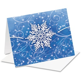 Winter Snow Holiday Notecards