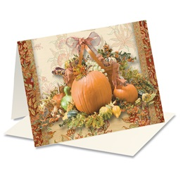 Autumn Adornment Notecards