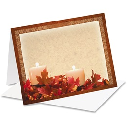 Autumn's Glow Notecards