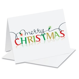 Merry Christmas Holiday Notecards