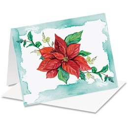 Winter Rose Frost Notecards