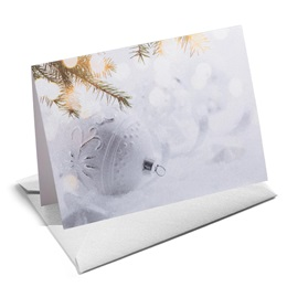 Frosted Dazzle Shimmer NoteCards