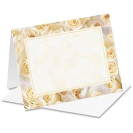 Cream Roses Notecards