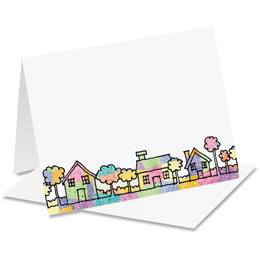Friendly Neighborhood Homes Notecards