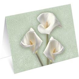 Calla Lilies Notecards