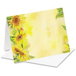 Sunflower Garden Notecards