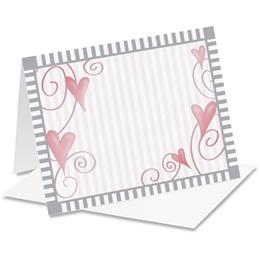 Dancing Hearts Notecards