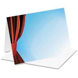 Stage Curtain Notecards