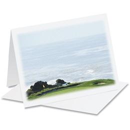 Golfer's Paradise Notecards