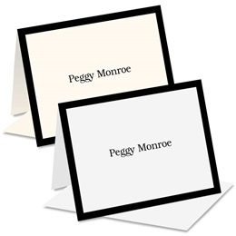 Flair Personalized Notecards
