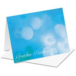Soft Hues Personalized Notecards