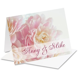 Fragrant Florals Personalized Notecards